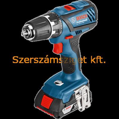 Bosch GSR 18-2-LI Plus Akkus fúró-csavarbehajtó