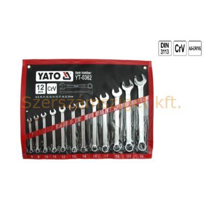 Yato Csillag-villáskulcs készlet 12 részes (YT-0362)
