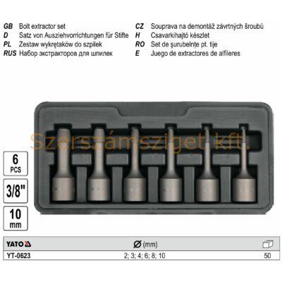 Yato Csavarkihajtó készlet 6 részes (YT-0623)