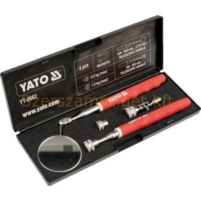 Yato Teleszkópos ellenőrző készlet, tükör+felvevő (YT-0662)