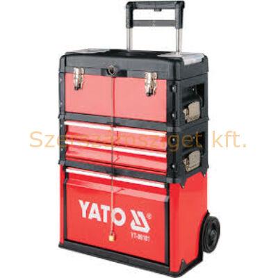 Yato Gurulós szerszám tároló kocsi 4 fiókos (YT-09101)