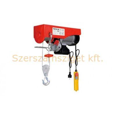 Yato Elektromos csörlő 500W 125/250 kg (YT-5901)