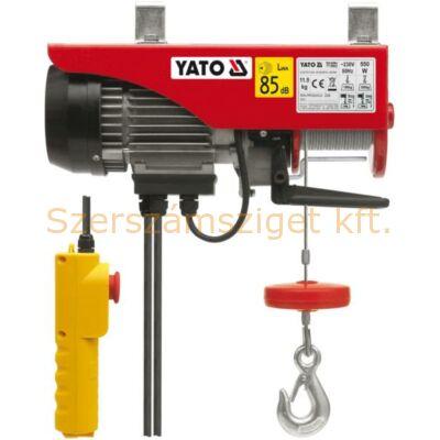 Yato Elektromos csörlő 550W 150/300 kg (YT-5902)