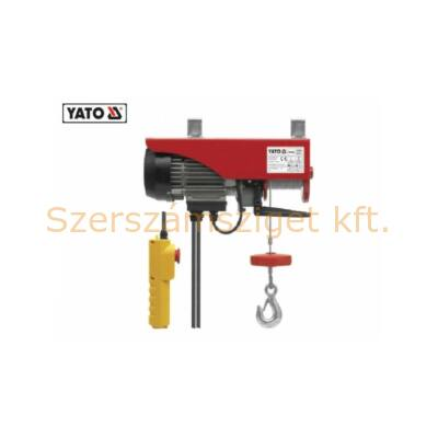 Yato Elektromos csörlő 900W 250/500 kg (YT-5904)
