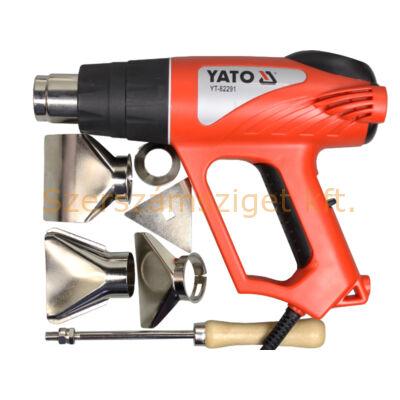 Yato Hőlégfúvó +tartozékok 2000 W (YT-82291)