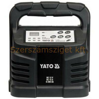 Yato Elektronikus akkumulátor töltő 15A (YT-8303)