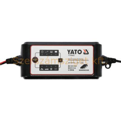 Yato Akkumulátor töltő 6-12V/4A (YT-83032)