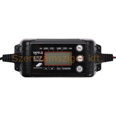 Yato Elektronikus akkumulátor töltő (YT-83033)