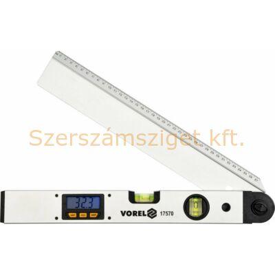 Vorel Elektronikus szögmérő és vízmérték 400 mm 17570