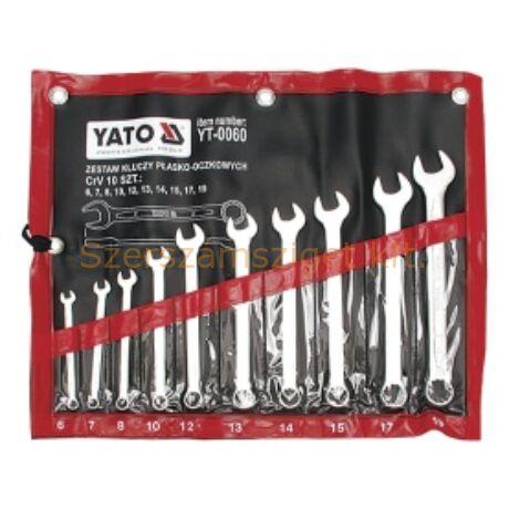 Yato Csillag-villáskulcs készlet 10 részes (YT-0060)