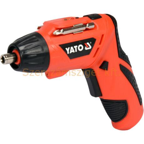 Yato Akkus csavarbehajtó 3,6 V (YT-82760)
