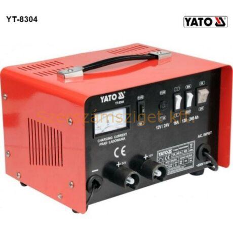 Yato Akkumulátortöltő boost funkcióval 16A (YT-8304)