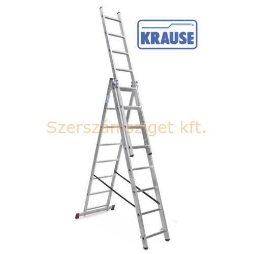 KRAUSE CORDA Sokcélú létra 3x8 fokos lépcsőfunkcióval