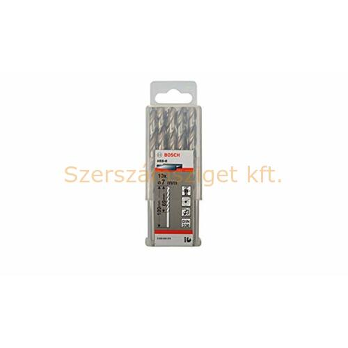 Bosch Fémfúró HSS-G STD 7x69x109mm 10db