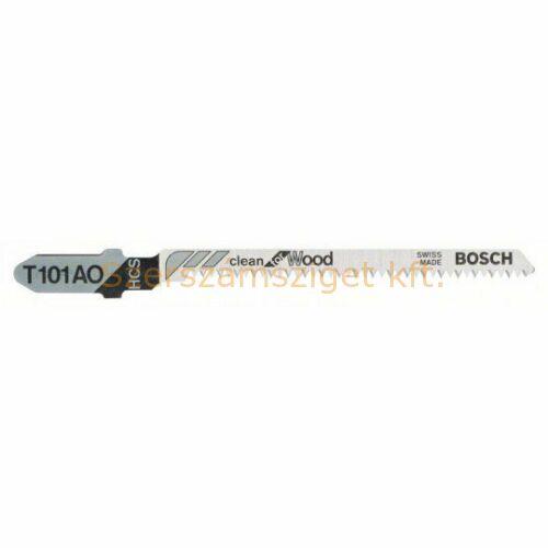 BOSCH T 101 AO Clean for Wood szúrófűrészlap 3db (2608630559)