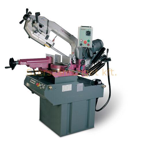 Szalagfűrészgép OPTIMUM S 310DG Vario körasztallal (1,5kW, 20-90m/p, 2750x27x0,9mm)