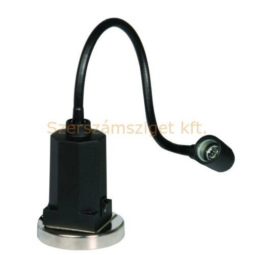 Optimum LED munkalámpa (AL12) integrált transzformátorral, 400mm-es flex.mágneses talppal