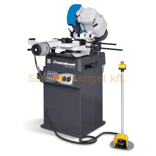 Optimum Fűrésztárcsás darabológép MKS 350 H (400V) félautomata 40/80 f/p