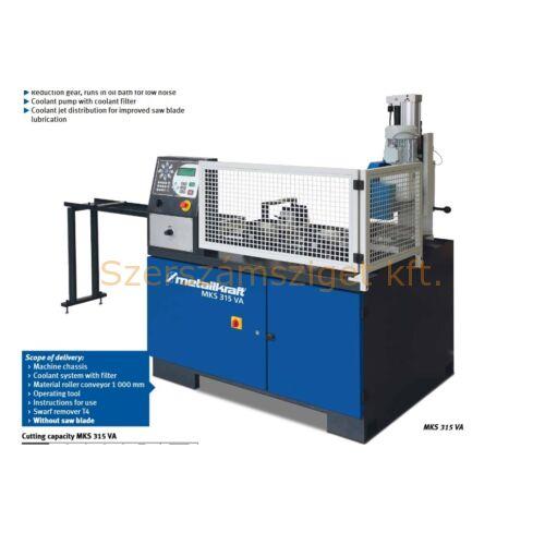 Automata hidraulikus fűrésztárcsás darabológép MKS 315 VA (400V)