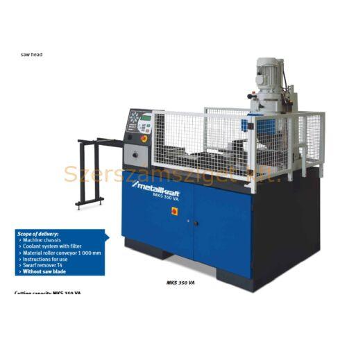 Automata hidraulikus fűrésztárcsás darabológép MKS 350 VA (400V)