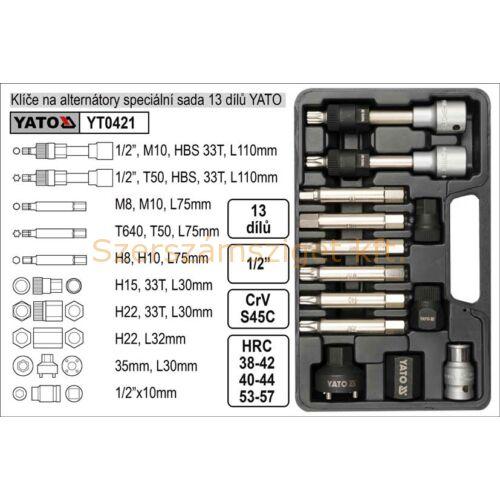 Yato Generátor szerszámkészlet (YT-0421)