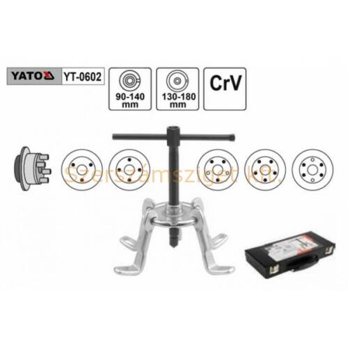 Yato Univerzális féktárcsa és fékdob lehúzó (YT-0602)