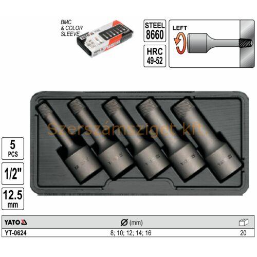 Yato Csavarkihajtó készlet 5 részes (YT-0624)