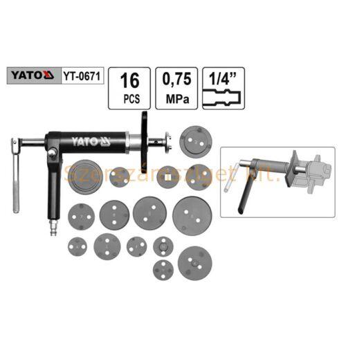 Yato Pneumatikus készlet fék-munkahengerhez (YT-0671)
