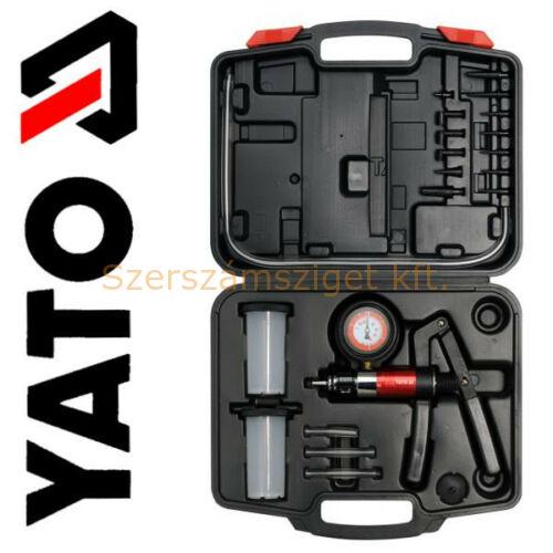 Yato Vákum és ac-pumpa mérő, tartozékokkal -1÷3bar  (YT-0674)