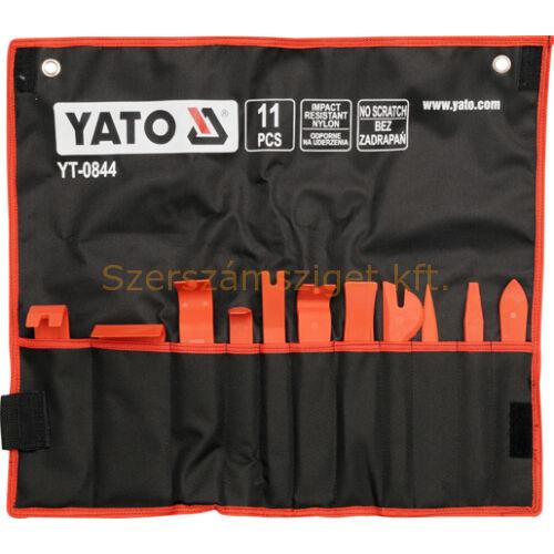 Yato Kárpitlehúzó 11részes (YT-0844)