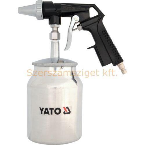 Yato Homokfúvó pisztoly alsó tartályos 1l (YT-2376)