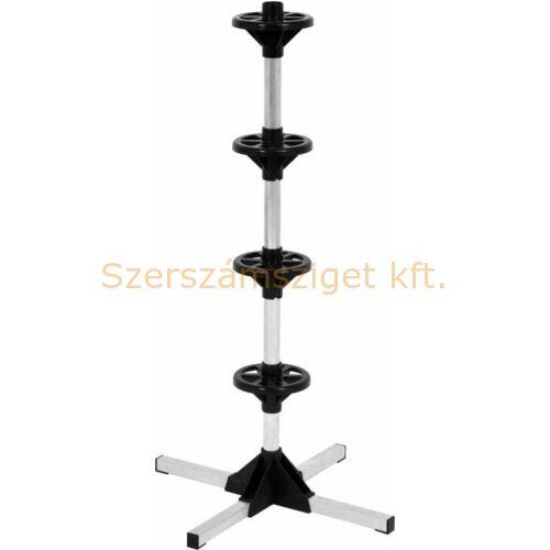 YATO kerék és abroncs tartó állvány, 4 kerékhez