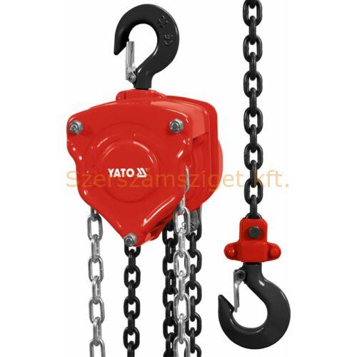 Yato láncos csigasor emelő 10t (YT-58957)