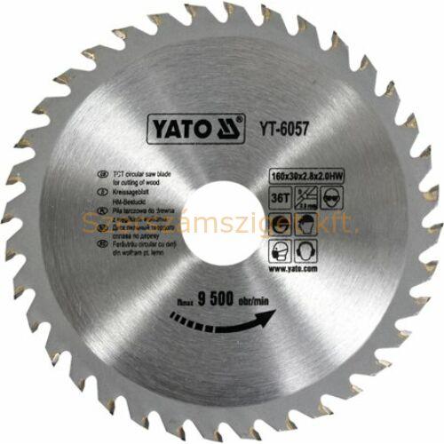 Yato Körfűrészlap 160x30mm / 36fog