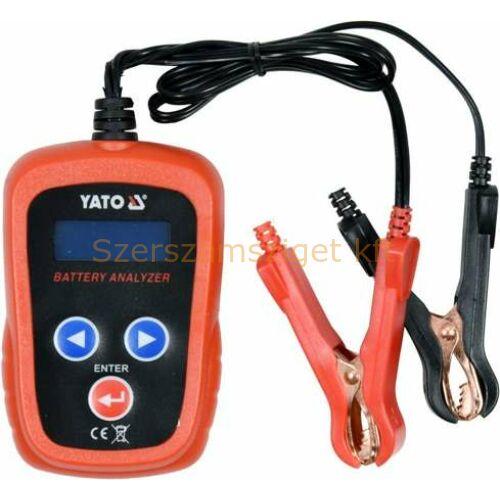 Yato Elektronikus akkumulátor teszter (YT-83113)